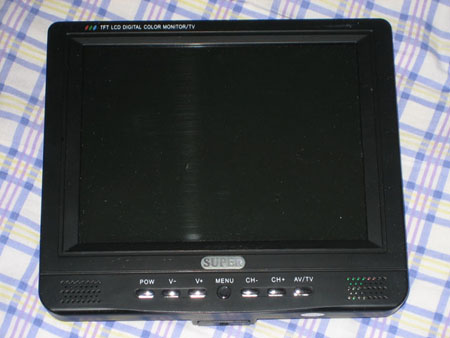 8.4 inch LCD colour TV