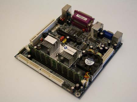 The VIA Epia M motherboard