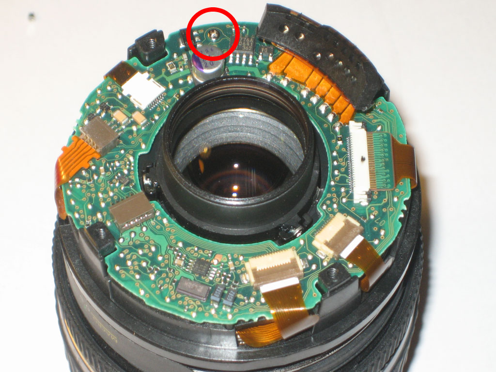 Canon Powershot Remove Ring Shot