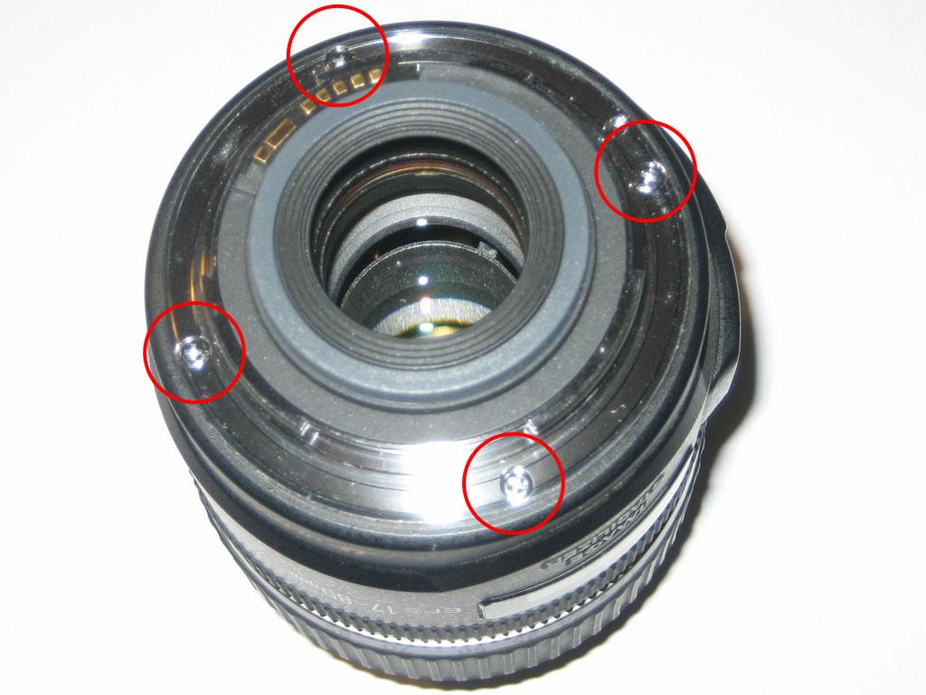 Lens Ring Stuck