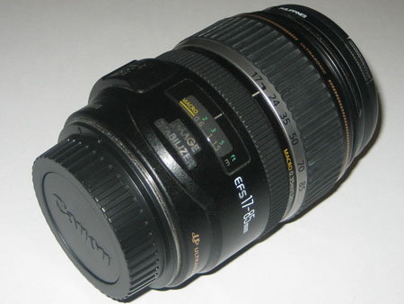 The stuck zoom lens