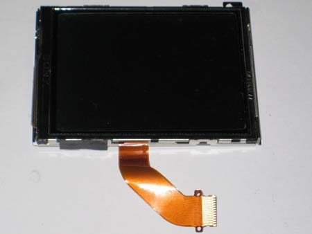 Removed LCD screen