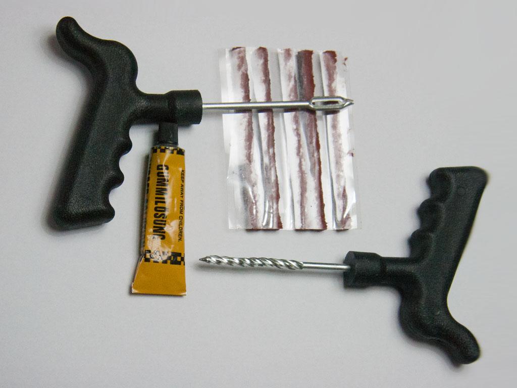 Car Puncture Repair At Home