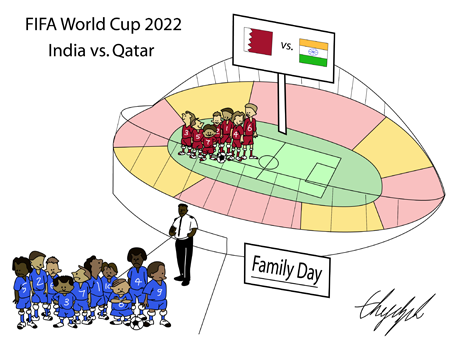 FIFA World Cup 2022, Qatar vs. India