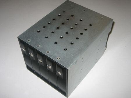 iStar BPN-350SAS modified - top air intake holes