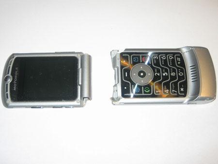 My broken Motorola RAZR V3