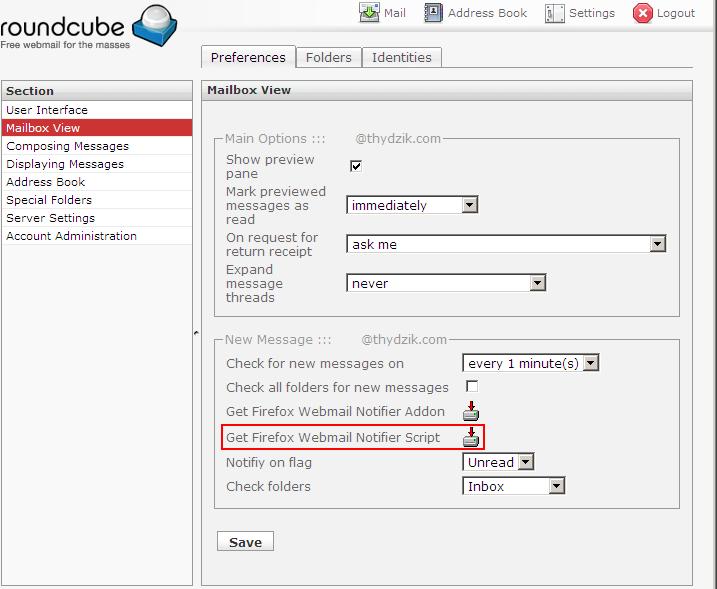 firefox addon yahoo mail notifier