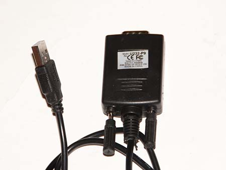 Prolific USB-to-Serial Comm Port label